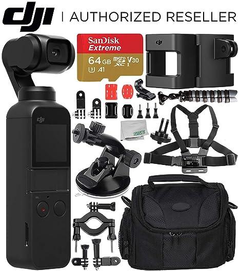 Amazon.com: DJI Osmo Pocket Gimbal con Essential Action ...