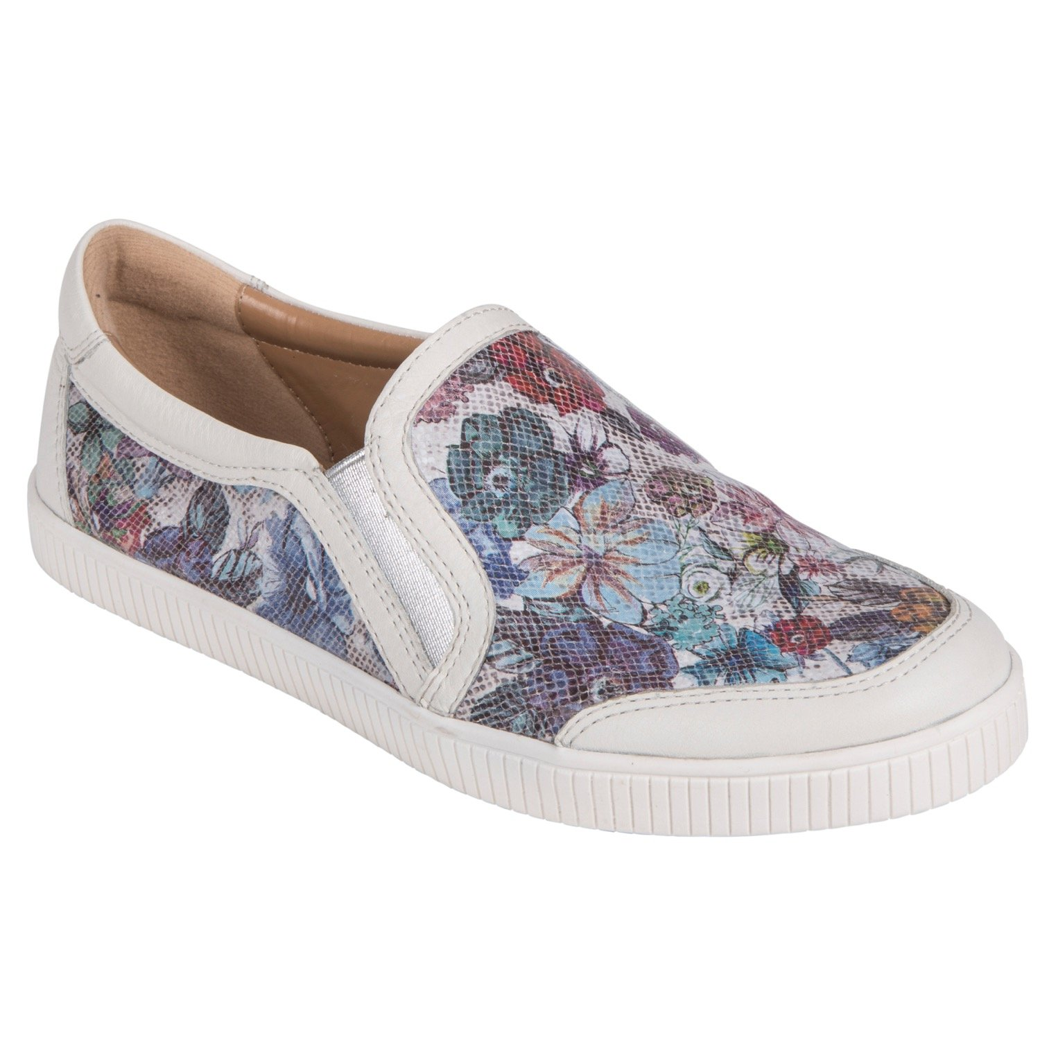 Earth Shoes Currant B079635BF6 8 B(M) US|Floral Multi