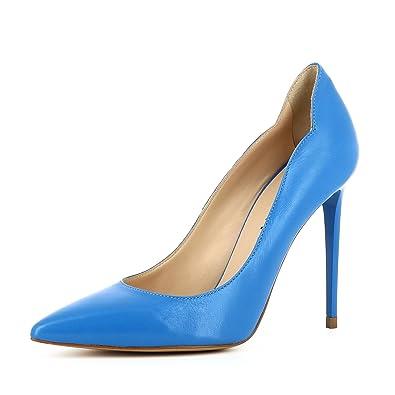 42cfe37c9b568e Alina Damen Pumps Glattleder  Amazon.de  Schuhe   Handtaschen