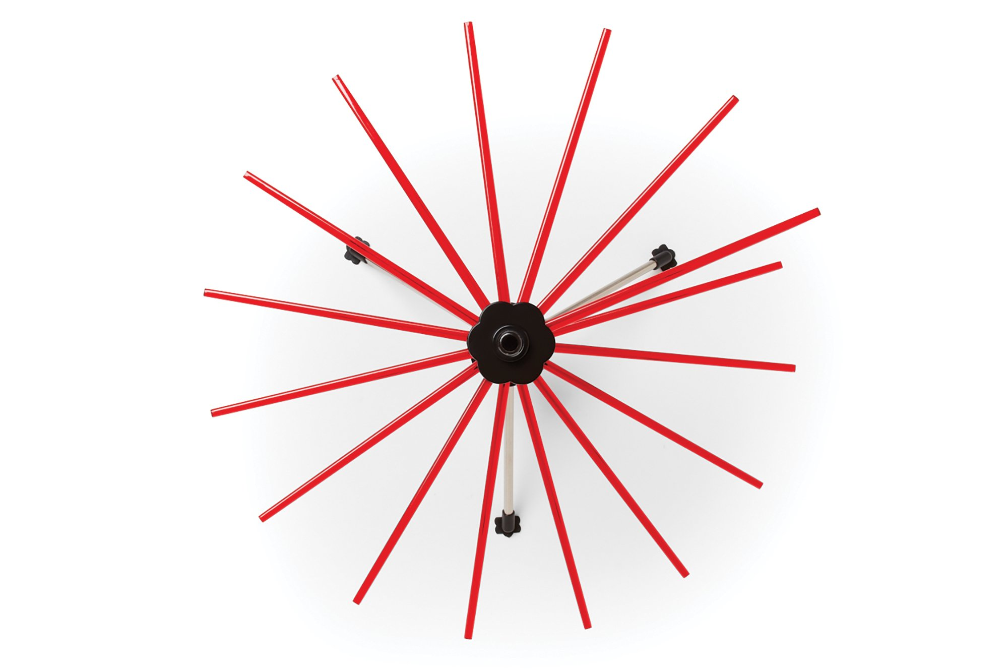 Fox Run 11654 Pasta Drying Rack, 18.5'', Red by Fox Run (Image #2)