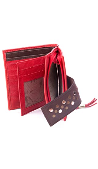 VELEZ Women Genuine Colombian Leather Wallet Credit Card Holder | Billetera de Cuero Colombiano para Mujer