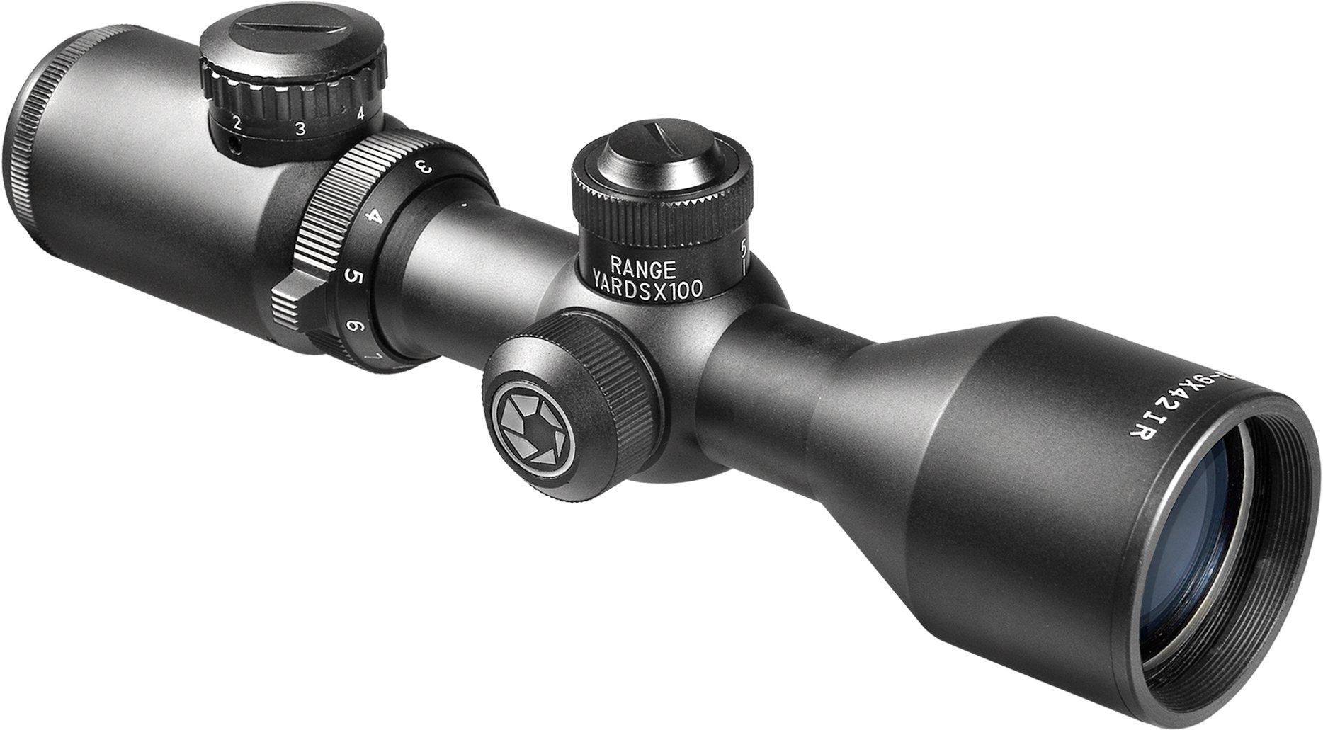 BARSKA New Rifle Scopes Quick BDC Adjustment (3-9x 42mm) by BARSKA