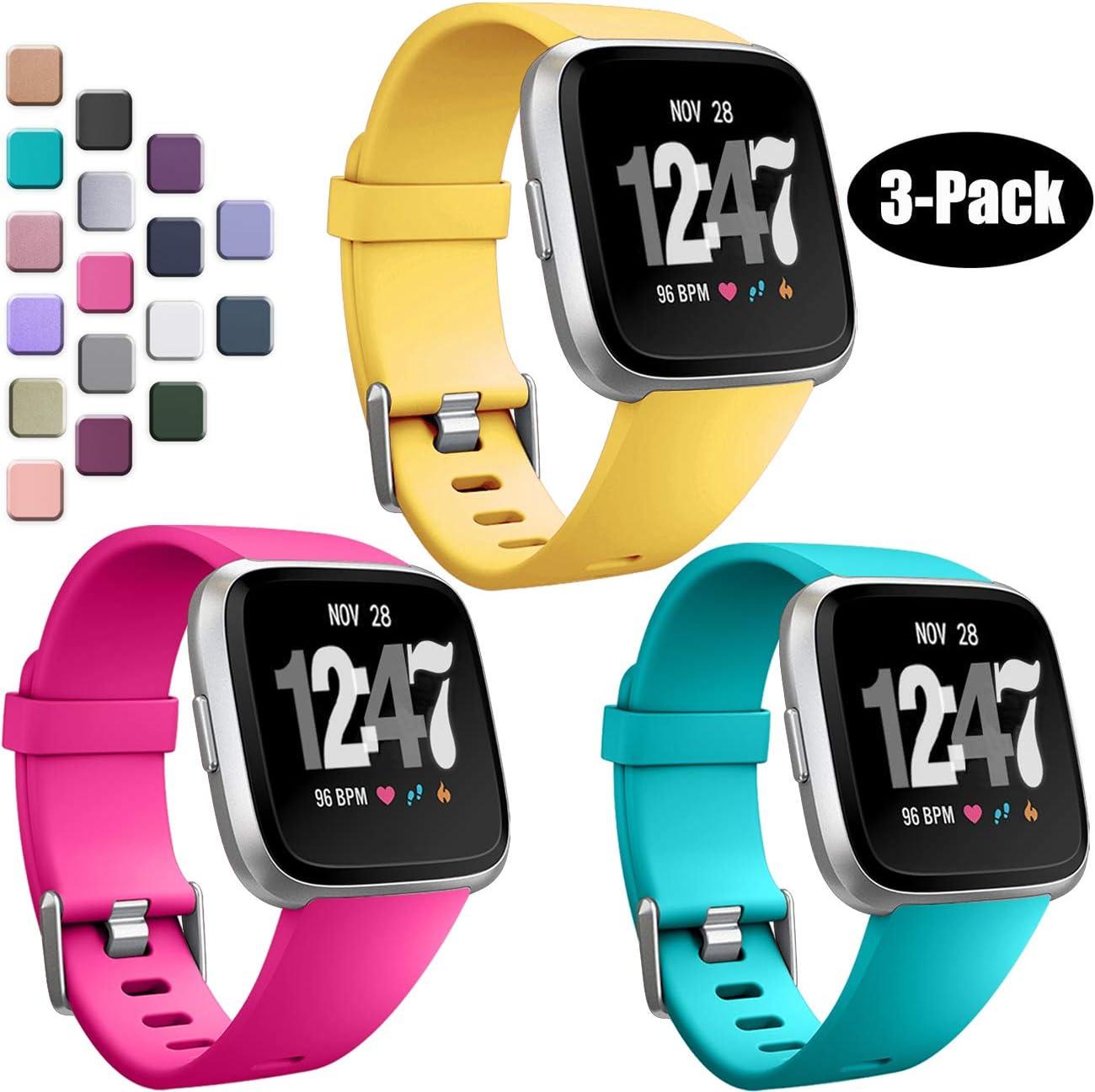 Mallas Para Reloj Fitbit Versa/fitbit Versa 2 (talle S)3un