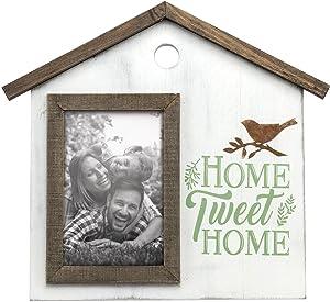 Foreside Home & Garden FFRD06126 4X6 Home Tweet Home Photo Frame