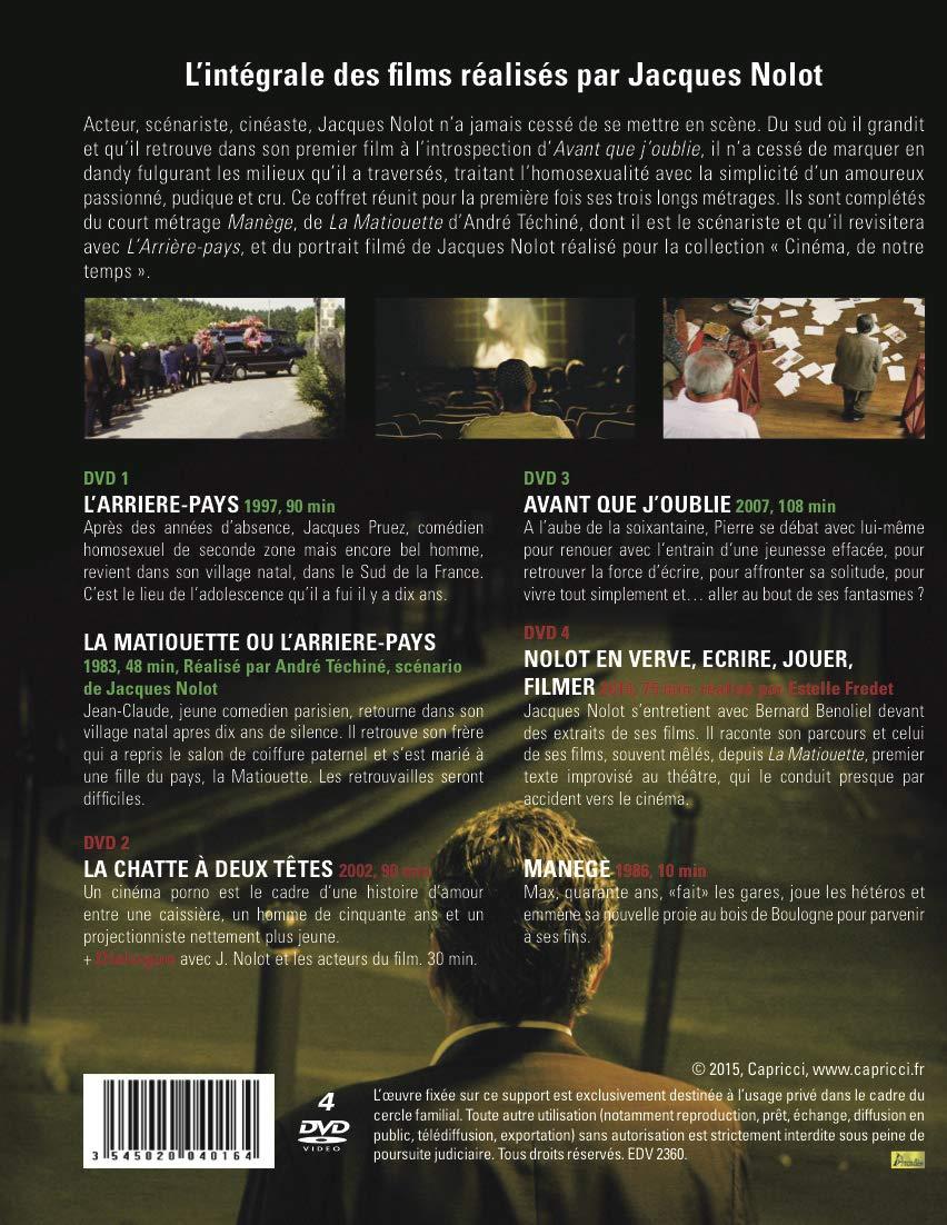 Jacques Nolot Intégrale Larrière Pays La Chatte A