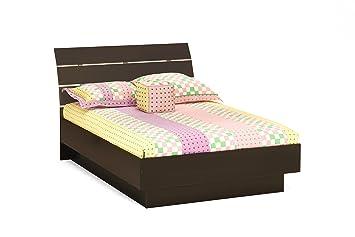 Tvilum 76200/1420 Scottsdale Bed with Slats, Full, Coffee