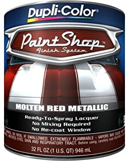 Amazon.com: Dupli-Color BSP303 Candy Apple Red Paint Shop Finish ...