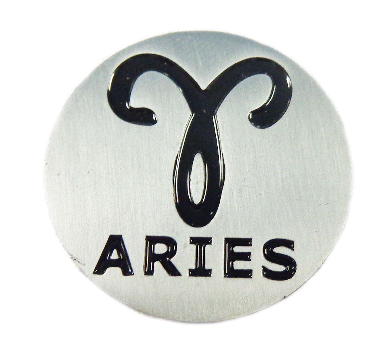 NEW EVERGOLF Zodiac Sign Aries Metal Golf Ball Marker   B06Y4VL4PJ
