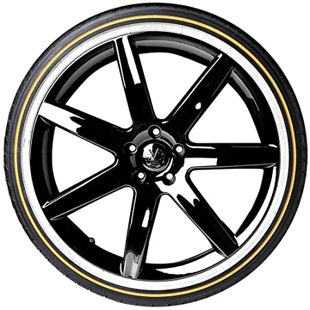 Amazon Com Vogue Custom Built Radial Viii Tyre Goldwhite 20555r16