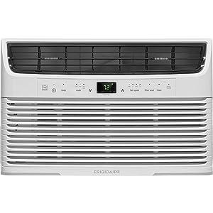 Frigidaire FFRE0633U1 6000 BTU 115V Window-Mounted Mini-Compact Full-Function Remote Control, White Air Conditioner
