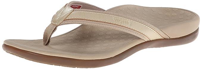 13ee2daa4c30 Orthaheel VIONIC with Technology Women s Tide II Gold Metallic Sandal 6 M UK  Size   4