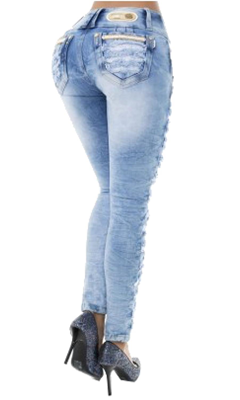 HADABELLA Los Auténticos Verdaderos Vaqueros Jeans Push Up ...