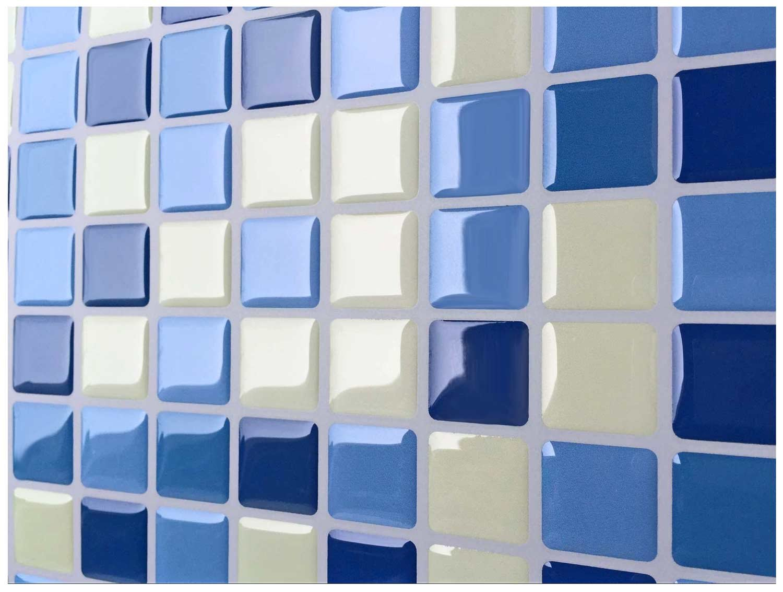 tile & sticker - piastrelle adesive in vinile e gel 3d, da ... - Piastrelle Adesive Da Muro