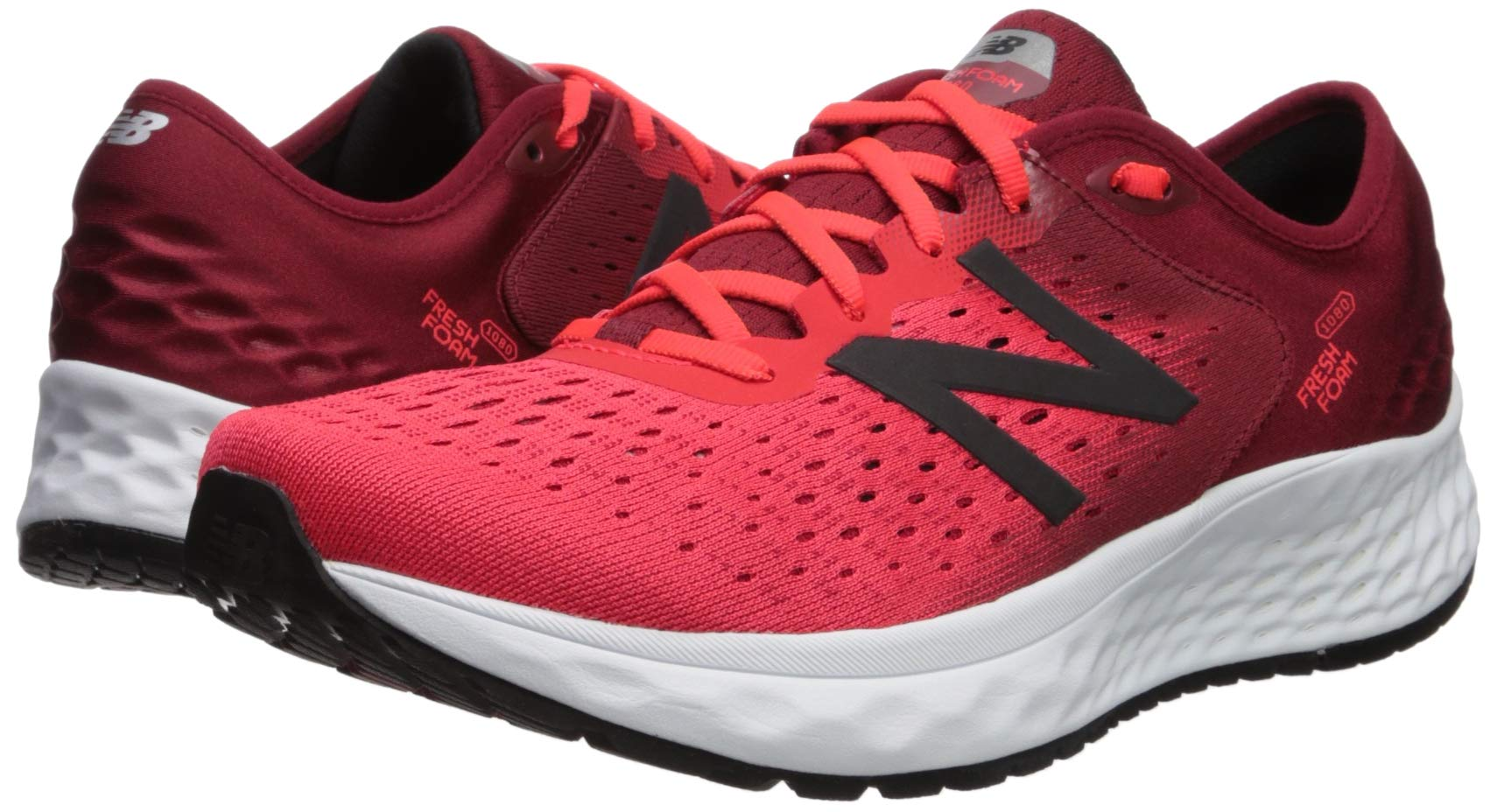 New Balance Men/'s Fresh Foam Gunmetal//Outerspace//Energy Red 1080v9 Sz 8-13 New