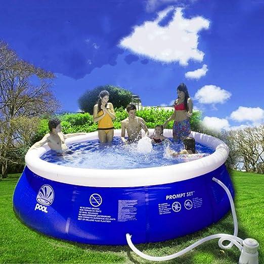 gengyouyuan Piscina Niños Adultos Jugando al Agua Piscina Inflable ...