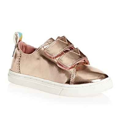 a40a396b603a TOMS Kids Baby Girl s Lenny (Infant Toddler Little Kid) Rose Gold Specchio