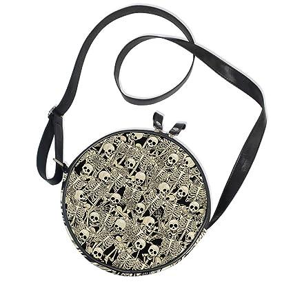 Amazon.com: Bolsas de mensajero para mujer, diseño de ...