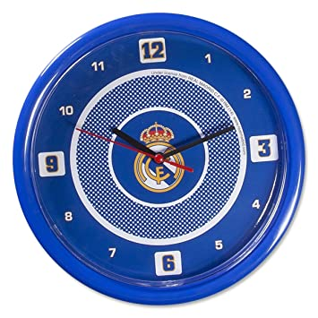 Reloj de pared REAL MADRID CF casera Oficial