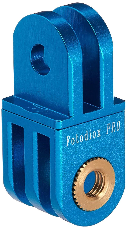 Fotodiox Pro GoTough Extender 90 Bras d'Extension en Aluminium avec Virage 90° pour GoPro Hero HD/1/2/3/3+/4 20 mm Bleu Métal GT-Extnd90-Blue Bras d'extension