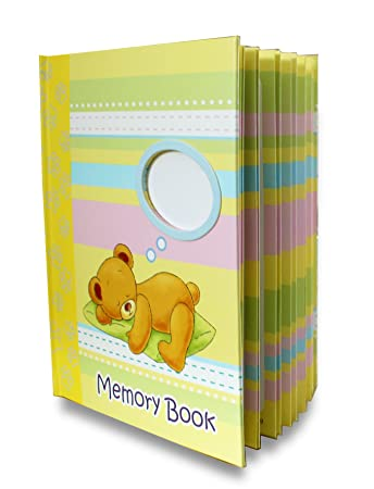 LittleLight Baby Memory Book For Boy Or Girl, Journal And Baby Shower Gift,  Baby