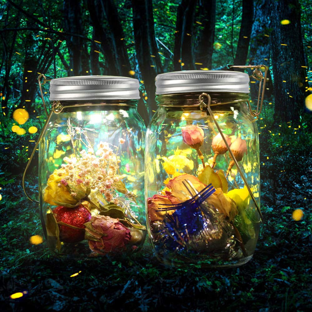 Solar glas Solarlicht Au/ßen XXL infinitoo Gro/ß Einmachglas led leuchten Mason Jar Au/ßen Garten Laterne Solarlampe Wasserdichte Garten H/ängeleuchten
