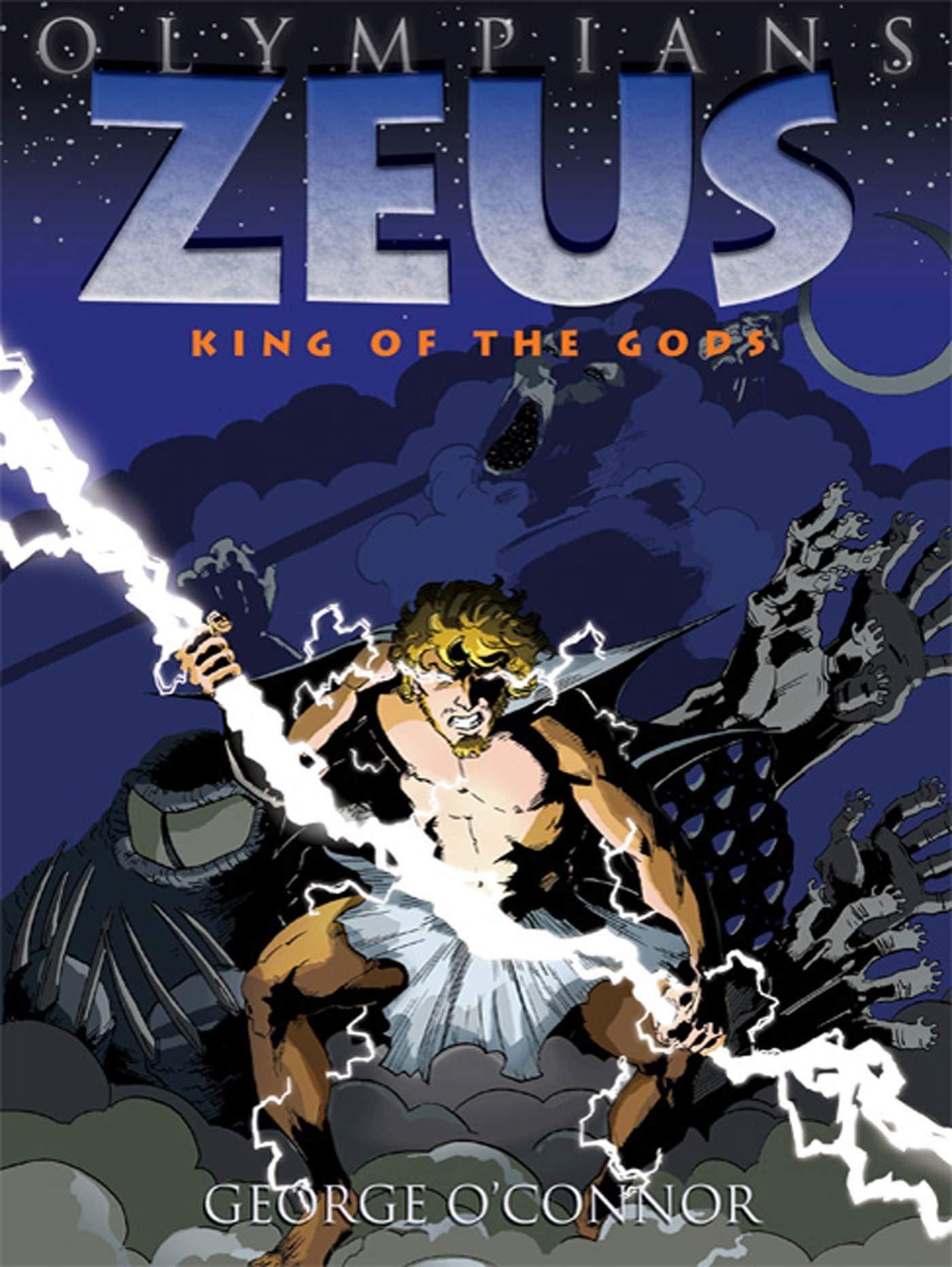 Read Online Olympians: Zeus: King of the Gods ebook