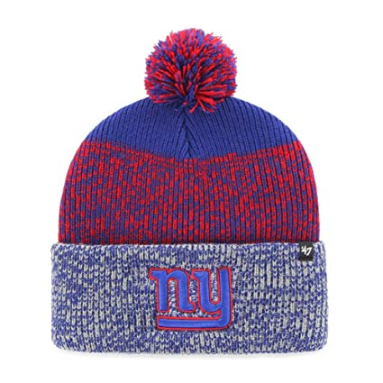 a2661df9561 Image Unavailable. Image not available for. Color   47 New York Giants NY  Beanie Static Cuff ...