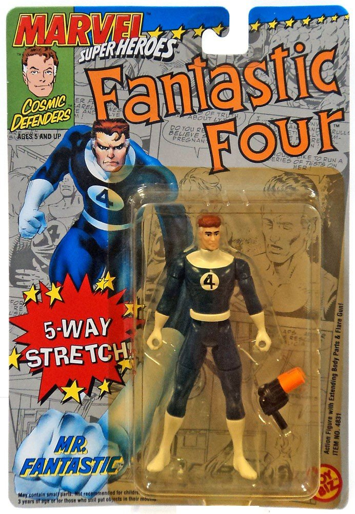 MARVEL  MR. FANTASTIC  FANTASTIC FOUR MARVEL SUPERHEROES 5 WAY STRETCH