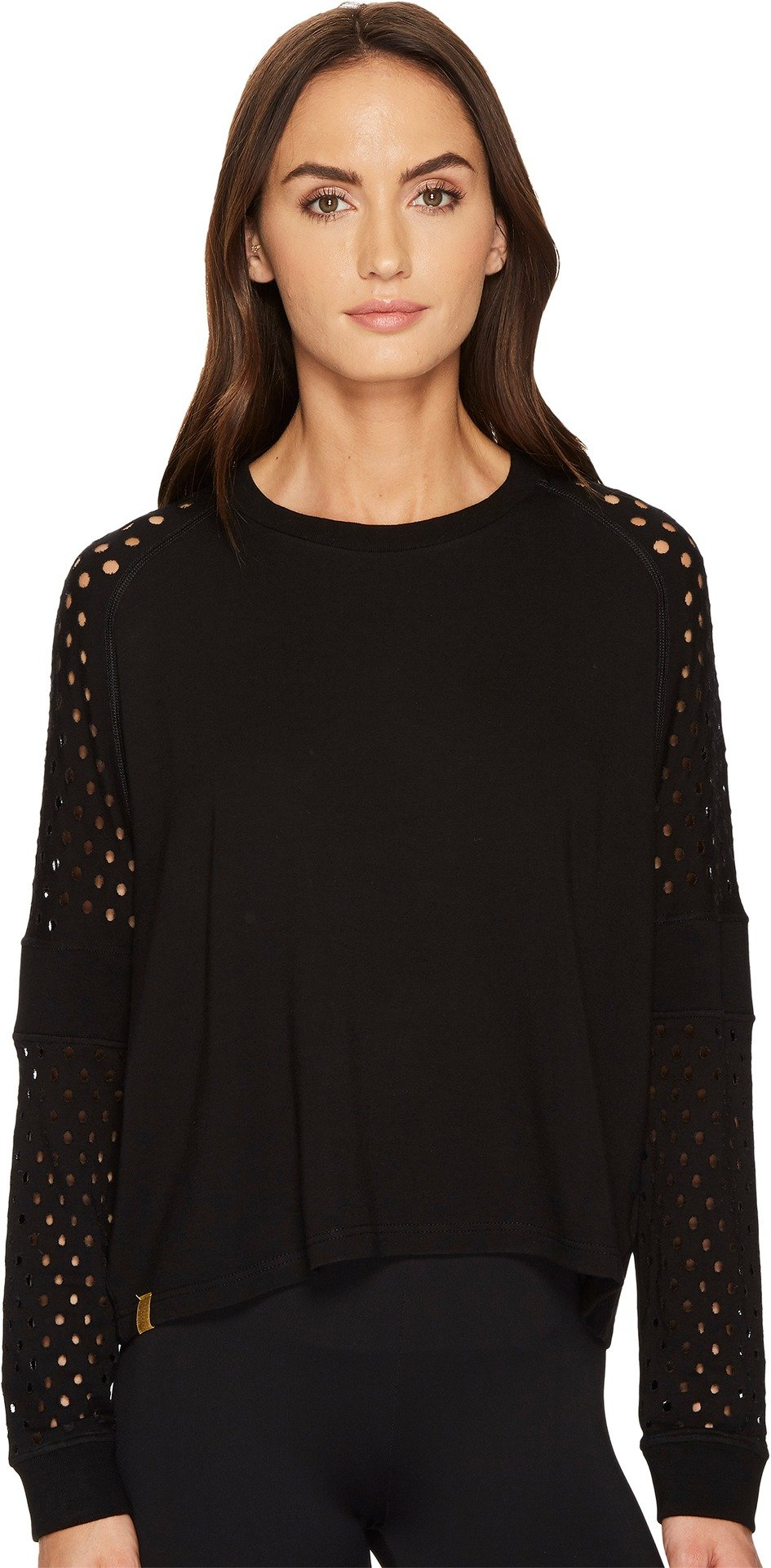 Monreal London Women's Flex Sweatshirt Black Sweatshirt