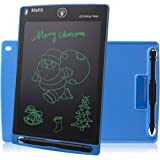 Doodle Pad LCD Writing Tablet - Mafiti 8.5 Inch Electronic Graphic Drawing Board Portable eWriter gifts for Kids Home Message Office Memo Whiteboard Blue