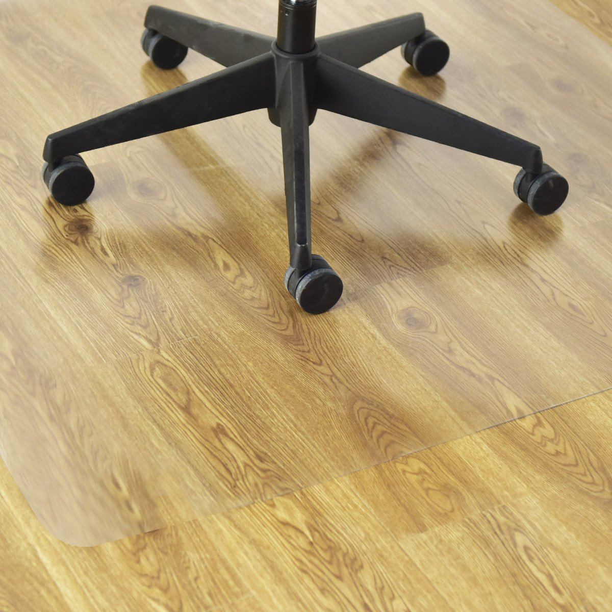 Goplus PVC Chair Mat for Hardwood Floor Clear Multi-Purpose Floor Protector for Office and Home Anti-Slip Floor Protective Mats (47'' x 47'') by Goplus (Image #3)