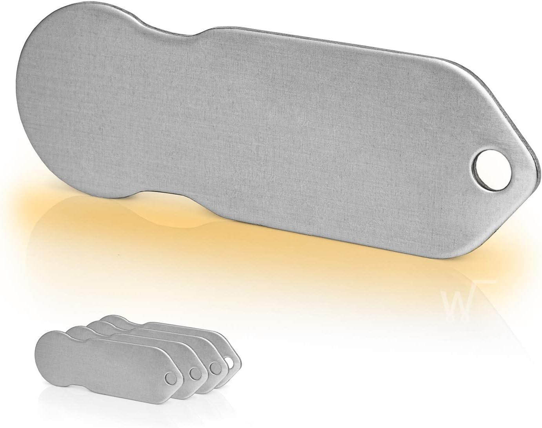 Code24 Einkaufswagenlöser 5 X Blanko Schlüsselanhänger Mit Einkaufschip Schlüsselfinder Schönes Firmengeschenk Inkl Registriercode Für Schlüsselfundservice Set Baumarkt