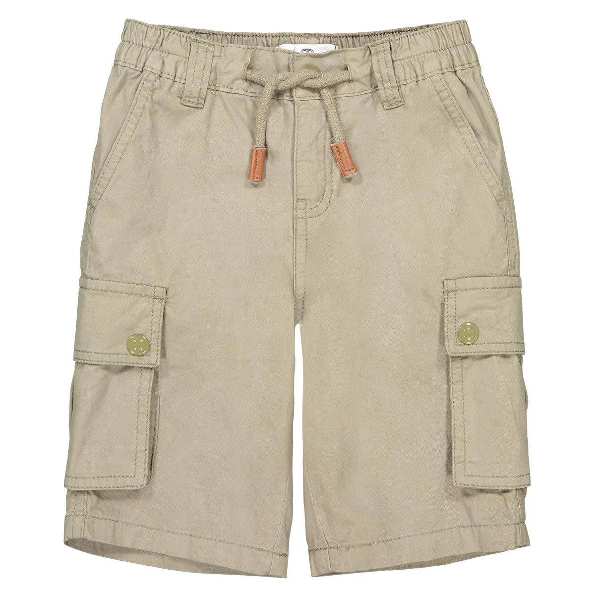 54 in. 2-12 Years Green Size 10 Years La Redoute Collections Big Boys Combat Bermuda Shorts