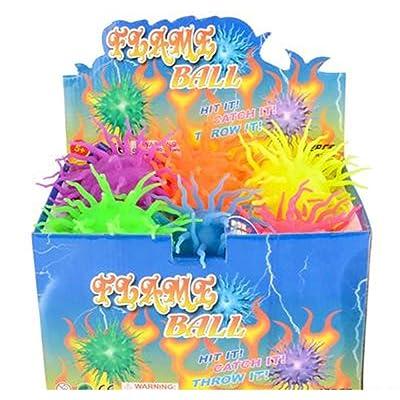 "Rhode Island Novelty Dozen 6"" Light-Up Lightning Balls: Toys & Games"