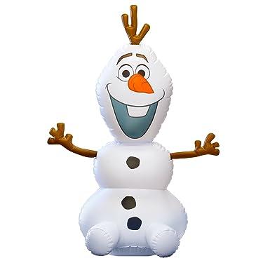 Amazon.com: Disney Frozen -- Inflatable, Rocking OLAF Décor ...