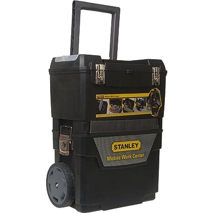 Advanced Stanley Rolling central de trabajo caja de herramientas con ruedas negro [unidades 1]