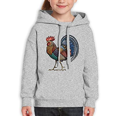 Youth gamecock Youth Pullover Hoodie Sweatshirt Ash Small