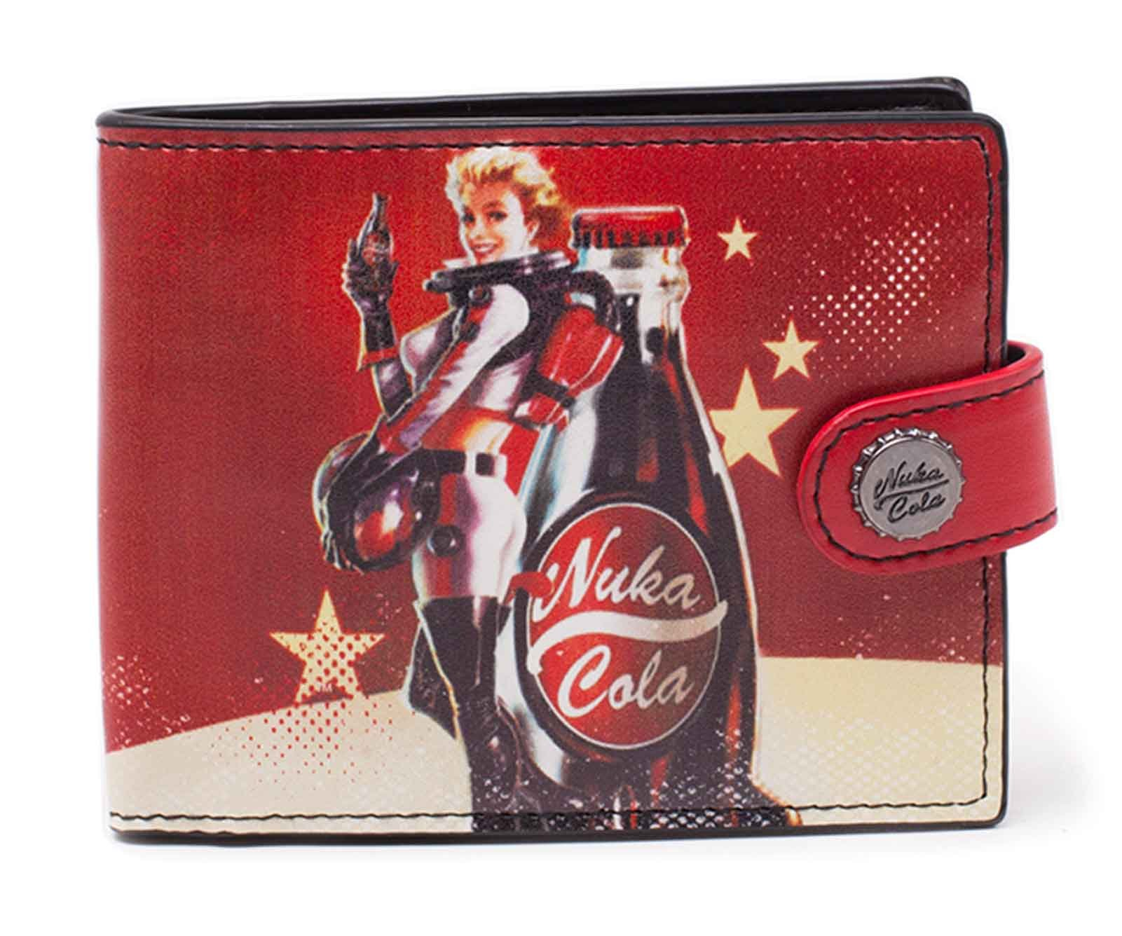 Fallout 4 Wallet Nuka Cola Girl Official Xbox Ps1 Gamer Bifold