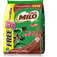 MILO ACTIV-GO GAO SIEW DAI 18x33G, (Free 3S Promo Pack)