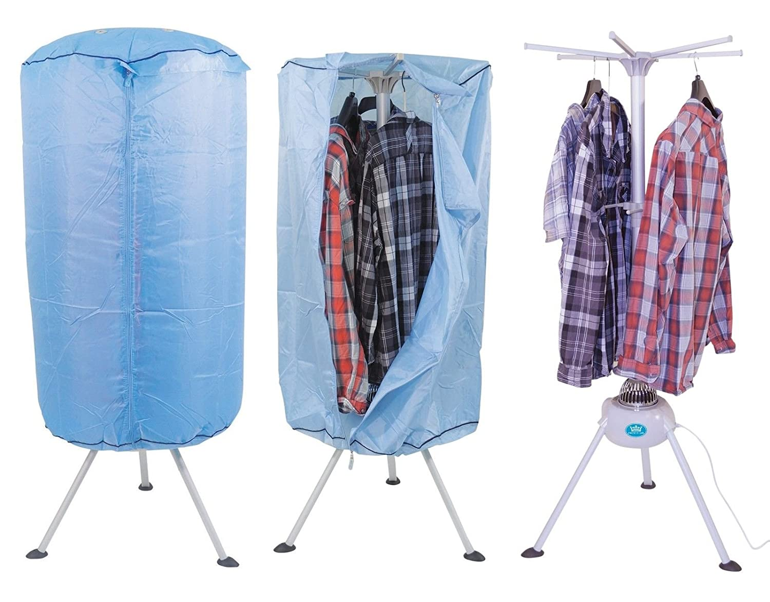 Good MP Essentials Portable Indoor Hot Air Laundry Clothes Dryer U0026 Airier With  Programmable Timer: Amazon.co.uk: Kitchen U0026 Home