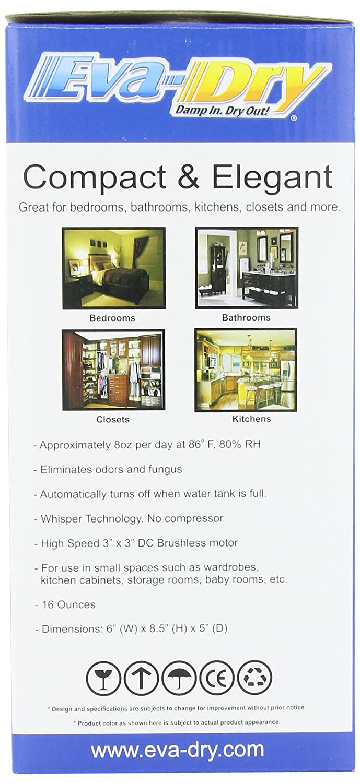 Eva Dry Edv 1100 Electric Petite Dehumidifier White Trailer Wiring Home Depot
