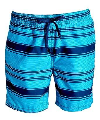 7ab2e268cf Kanu Surf Men's Haze Stripe Volley Swim Trunk