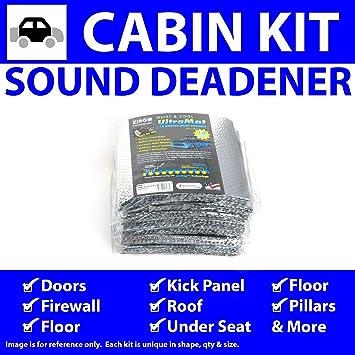 for 75-88 Mercedes ~ 2 Door Kit Zirgo 313823 Heat and Sound Deadener