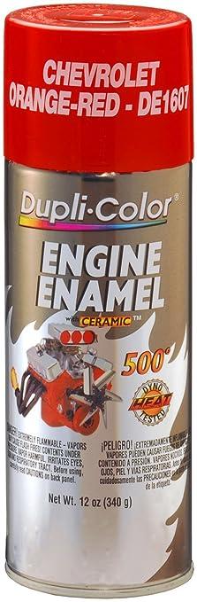 Amazon.com: Dupli-Color DE1607 Ceramic Chevrolet Orange-Red Engine ...