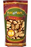 Dry Roasted Salted Brazil Nuts (3 LB) No Oil