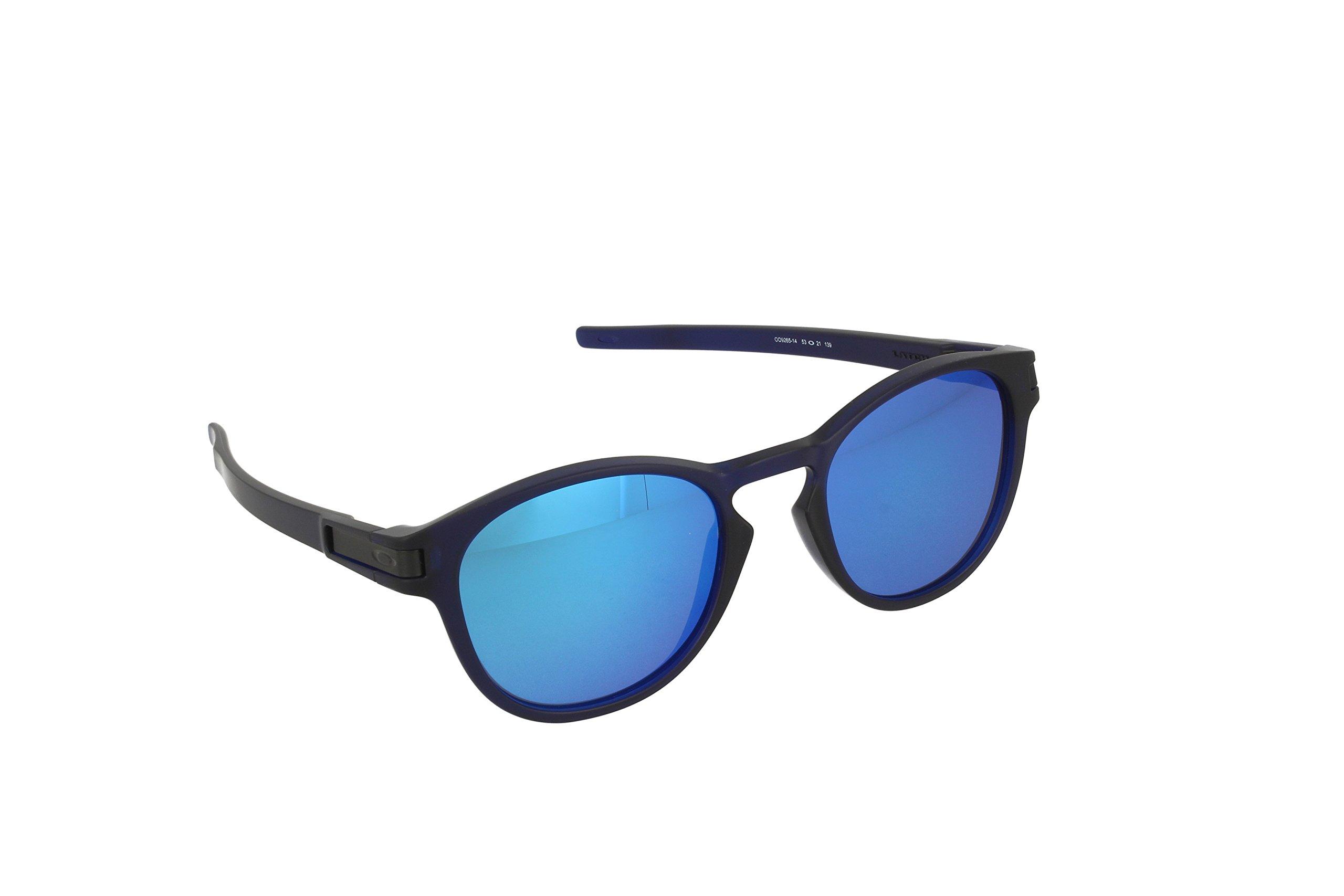 Oakley Mens Latch Matte Crystal Blue/Sapphire Iridium