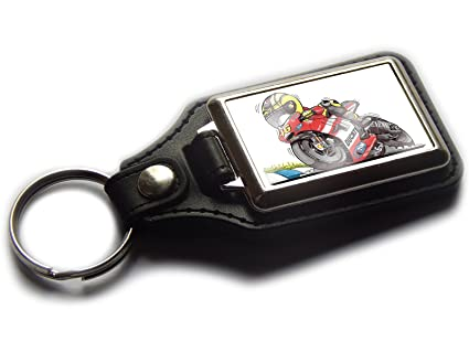Koolart VALENTINO ROSSI MotoGP Ducati - Llavero de piel y ...