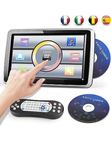 Reproductor de DVD Portátil para Coche 10.1 Reposacabezas del Coche con Pantalla Táctil 1080p
