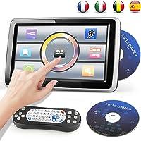 Reproductor de DVD Portátil para Coche 10.1'' Reposacabezas