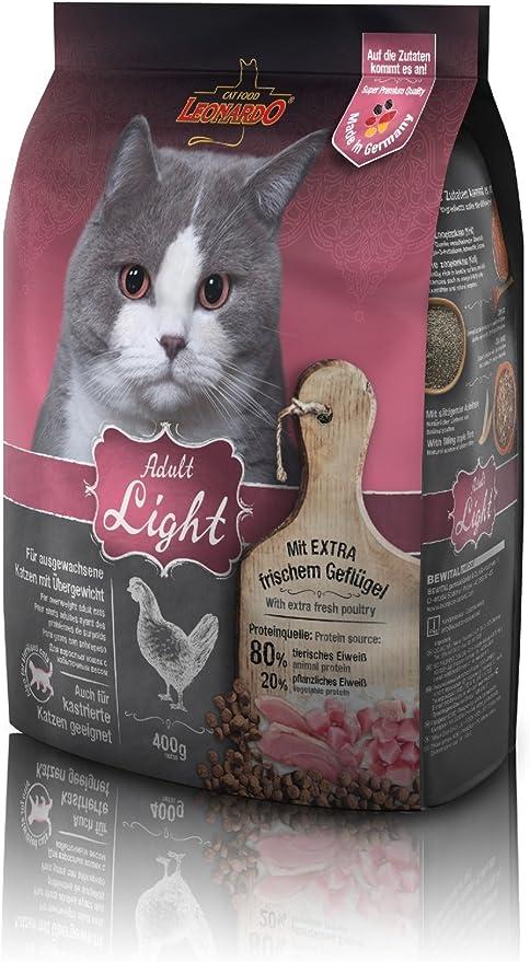 Belcando Leonardo Feline Adult Light 400Gr 400 g: Amazon.es: Productos para mascotas